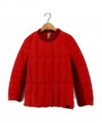 YOSOOU(ヨソオウ)の古着「ダウンプルオーバージャケット」|レッド