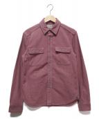 JELADO(ジェラード)の古着「ワークシャツ」|ピンク×グレー