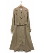 AMERI(アメリ)の古着「BACK LACE COAT」|ベージュ