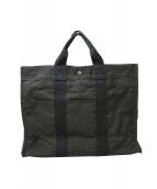 HERMES(エルメス)の古着「エールラインMMトートバッグ」|グレー