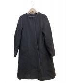 ATON(エイトン)の古着「テントラインコート」|ブラック
