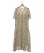 CELFORD(セルフォード)の古着「小花柄プリントワンピース」|ホワイト