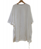 COGTHEBIGSMOKE(コグザビックスモーク)の古着「ロングTシャツ」|ホワイト