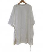 COGTHEBIGSMOKE(コグザビッグスモーク)の古着「ロングTシャツ」 ホワイト