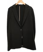 LAUTRE AMONT(ロートレアモン)の古着「ダブルクロス2WAYカーディジャケット」|ブラック