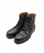 COMME des GARCONS HOMME(コムデギャルソンオム)の古着「ショートブーツ」|ブラック