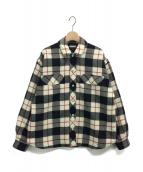 MIU MIU(ミュウミュウ)の古着「パテッドタータンジャケット」