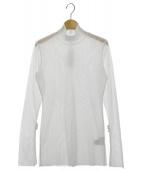 UN3D.(アンスリード)の古着「フレアスリーブメッシュトップ」|ホワイト