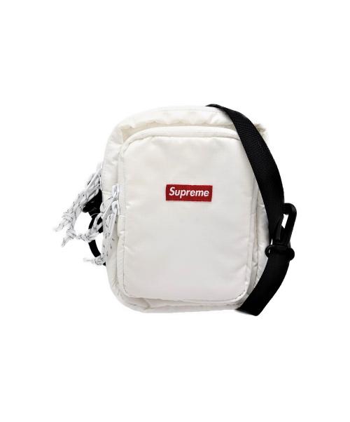 SUPREME(シュプリーム)Supreme (シュプリーム) ショルダーバッグ ホワイト 17AWの古着・服飾アイテム