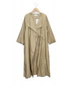 かぐれ(カグレ)の古着「モールスキンコート」|ベージュ