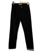 SIVIGLIA(シビリア)の古着「5ポケットストレッチパンツ」|ブラック
