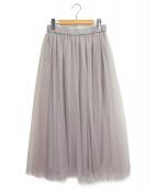 eclat(エクラ)の古着「チュールスカート」