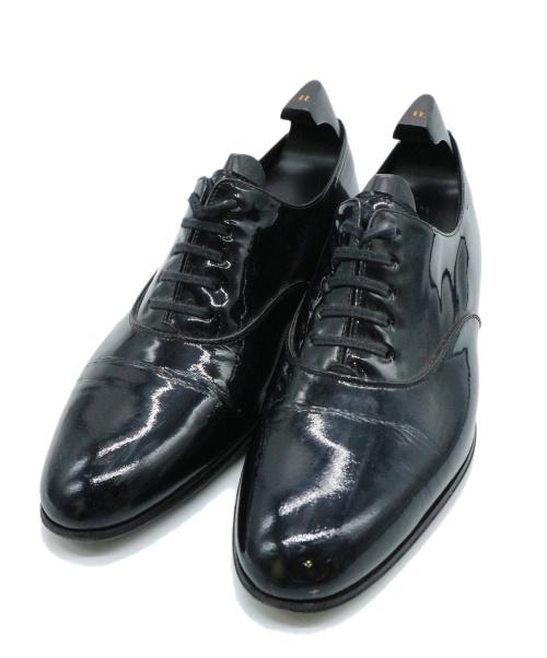 JOHN LOBB(ジョンロブ)JOHN LOBB (ジョンロブ) パテントドレスシューズ ブラック サイズ:5 1/2 CALISTO カリスト 8695Eの古着・服飾アイテム