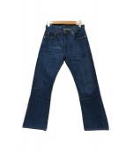 LEVIS VINTAGE CLOTHING(リーバイス ヴィンテージ クロージング)の古着「復刻505デニムパンツ」|インディゴ
