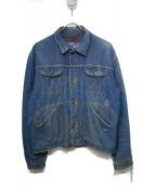 Wrangler(ラングラー)の古着「ヴィンテージブランケットライニングデニムジャケット」|インディゴ