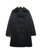 icB(アイシービ)の古着「シームレスダウンコート」|ブラック