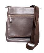 土屋鞄(ツチヤカバン)の古着「プロータ防水レザーショルダーバッグ」|ブラウン