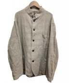 KAPTAIN SUNSHINE(キャプテン サンシャイン)の古着「スタンドカラージャケット」|グレー