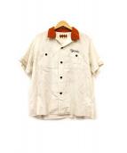 WEIRDO(ウィアード)の古着「ボーリングシャツ」 ホワイト