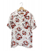 WEIRDO(ウィアード)の古着「オープンカラーシャツ」|アイボリー