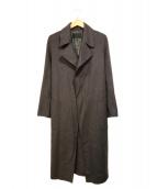 icB(アイシービー)の古着「WoolReverトレンチ型コート」|チャコールグレー