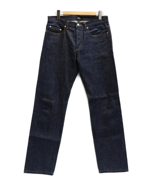 A.P.C.(アーペーセー)A.P.C. (アーベーセ) プチスタンダードジーンズ インディゴ サイズ:表記サイズ:32の古着・服飾アイテム