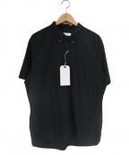 save khaki united(セーブカーキユナイテッド)の古着「ポプリンプルオーバーシャツ」|ブラック