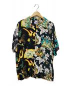 ()の古着「別注クレイジーアロハシャツ」|ブラック
