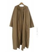 DRESSLAVE(ドレスレイブ)の古着「エアコットンサイドベントコート」|ベージュ