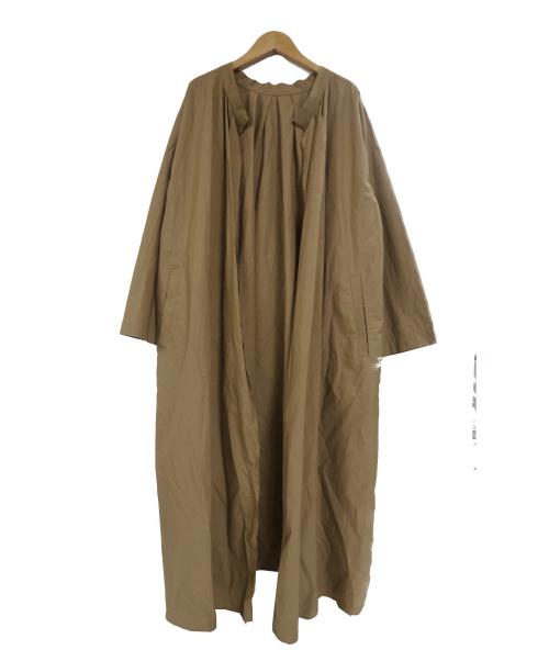 DRESSLAVE(ドレスレイブ)DRESSLAVE (ドレスレイブ) エアコットンサイドベントコート ベージュ サイズ:M 91303605-PPの古着・服飾アイテム
