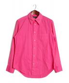 YOHJI YAMAMOTO(ヨウジヤマモト)の古着「製品染め二重袖シャツ」|ピンク