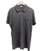 RRL(ダブルアールエル)の古着「ウォッシュ加工ポロシャツ」|ブラック
