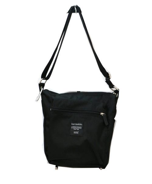marimekko(マリメッコ)marimekko (マリメッコ) ショルダーバッグ ブラック ROADIE PALの古着・服飾アイテム