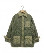 GANNI(ガニー)の古着「中綿ジャケット」|オリーブ
