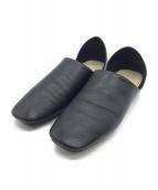 LEMAIRE(ルメール)の古着「レザーシューズ」|ブラック