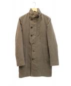 WOO YOUNG MI(ウーヨンミ)の古着「スタンドカラーコート」|オリーブ