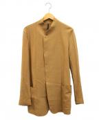 Galaabend(ガラアーベント)の古着「フックボタンウールジャケット」|ベージュ