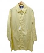 Maison Margiela 14(メゾンマルジェラ14)の古着「ステンカラーコート」 イエロー