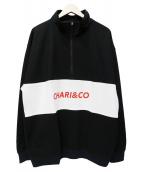 CHARI&CO(チャリアンドコー)の古着「HIGH NECK PULLOVER」|ブラック