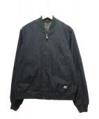 DEUS EX MACHINA(デウスエクスマキナ)の古着「BUZZ BOMBER JACKET」|ブラック