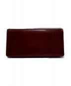 Cartier(カルティエ)の古着「長財布」|ボルドー
