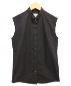 Maison Margiela()の古着「ノースリーブシャツ」|ブラック