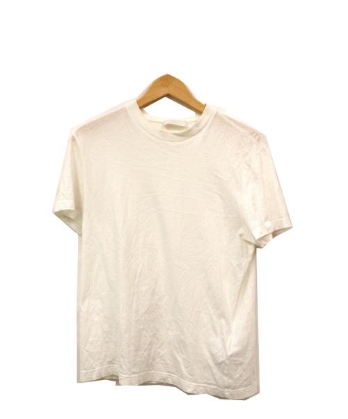 PRADA(プラダ)PRADA (プラダ) クルーネックカットソー ホワイト サイズ:Mの古着・服飾アイテム