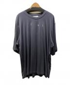 ETHOSENS(エトセンス)の古着「ロゴドレープTシャツ」|グレー