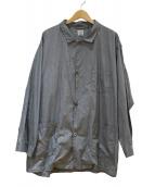 orSlow(オアスロウ)の古着「パジャマジャケット」|グレー
