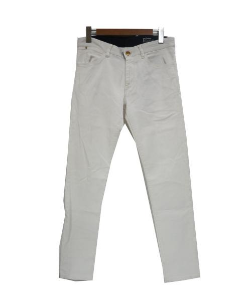 PT TORINO(ピーティートリノ)PT TORINO (ピーティートリノ) ストレッチスキニーパンツ ホワイト サイズ:M  PT01の古着・服飾アイテム