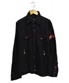 hysterics(ヒステリックス)の古着「ウエスタンジャケット」|ブラック