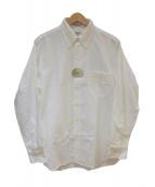 INDIVIDUALIZED SHIRTS(インディビジュアライズドシャツ)の古着「ボタンダウンシャツ」 ホワイト
