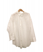 SLOBE IENA(イエナスローブ)の古着「SOMELOS 2WAY シャツ」|ホワイト