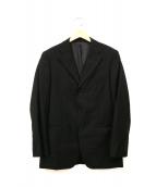 BURBERRY BLACK LABEL(バーバリーブラックレーベル)の古着「3Bテーラードジャケット」|ブラック